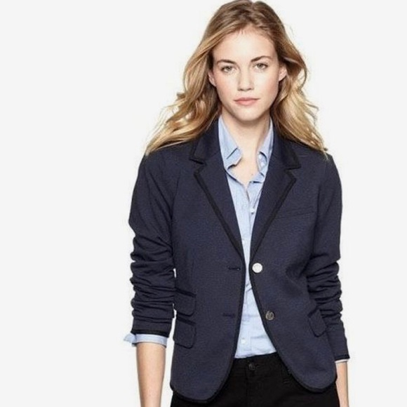 Clothing, Shoes & Accessories Gap Grey Academy Blazer 4 Women S